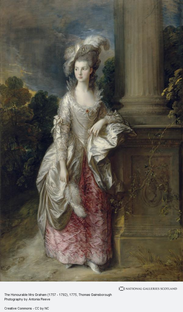 Thomas Gainsborough, The Honourable Mrs Graham (1757 - 1792) (1775 - 1777)