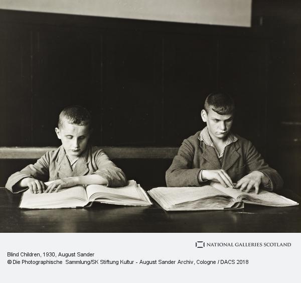 August Sander, Blind Children, 1930 (1930)