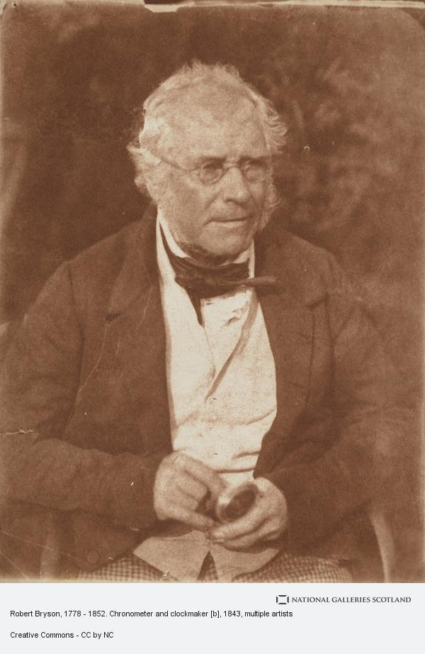 David Octavius Hill, Robert Bryson, 1778 - 1852. Chronometer and clockmaker [b]