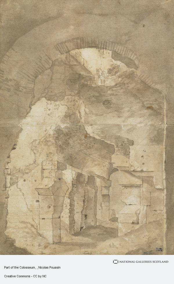 Nicolas Poussin, Part of the Colosseum