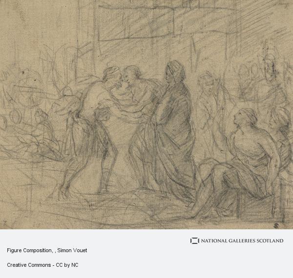 Simon Vouet, Figure Composition