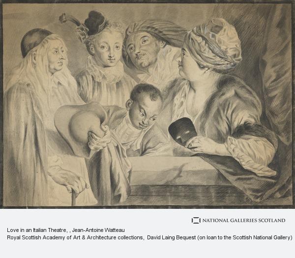 Jean-Antoine Watteau, Love in an Italian Theatre