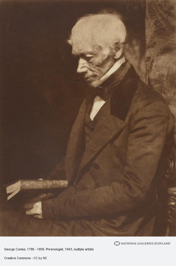 Robert Adamson, George Combe, 1788 - 1858. Phrenologist