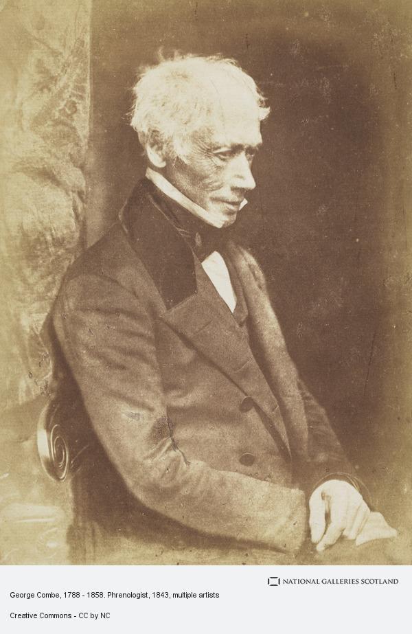 David Octavius Hill, George Combe, 1788 - 1858. Phrenologist