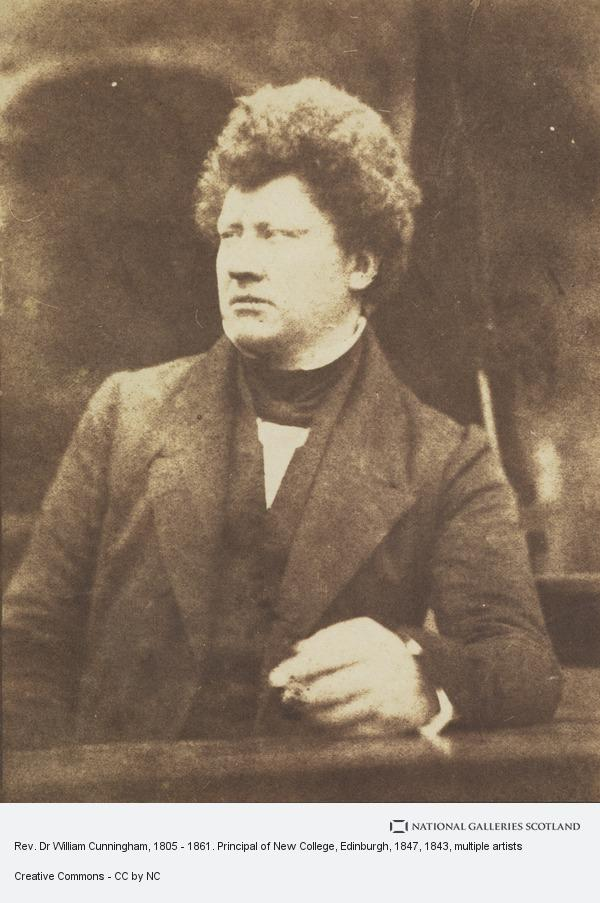 David Octavius Hill, Rev. Dr William Cunningham, 1805 - 1861. Principal of New College, Edinburgh, 1947