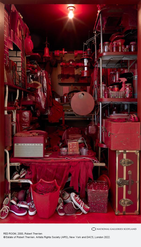 Robert Therrien, RED ROOM (2000-2007)