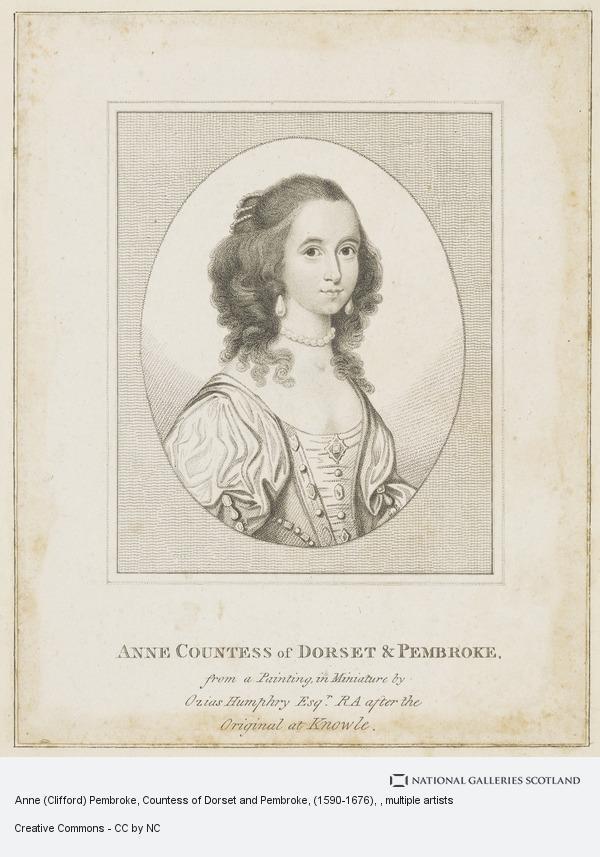 Ozias Humphry, Anne (Clifford) Pembroke, Countess of Dorset and Pembroke, (1590-1676)