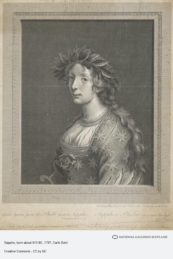 Carlo Dolci, Sappho, born about 615 BC