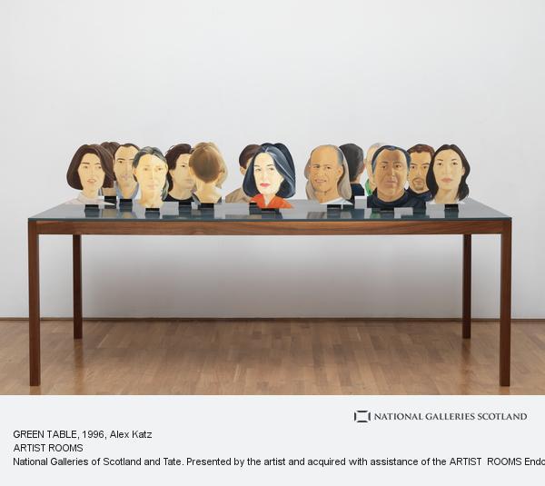 Alex Katz, GREEN TABLE