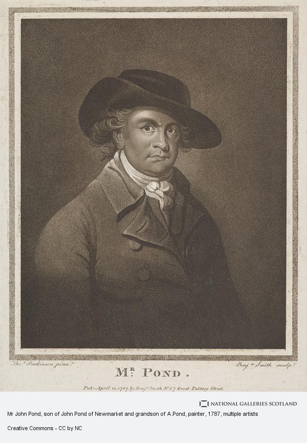 Thomas Parkinson, Mr John Pond, son of John Pond of Newmarket and grandson of A.Pond, painter