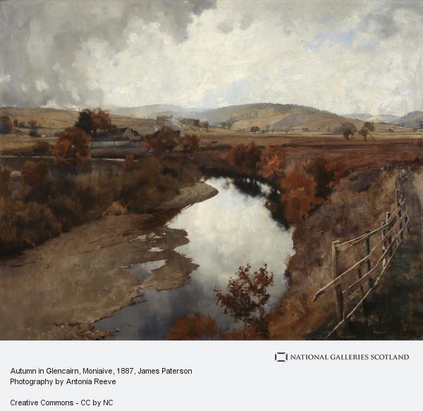 James Paterson, Autumn in Glencairn, Moniaive (1887)