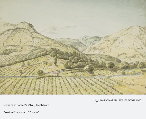 Jacob More, View near Horace's Villa