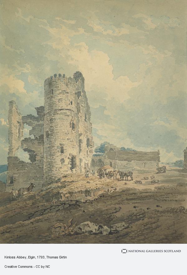 Thomas Girtin, Kinloss Abbey, Elgin