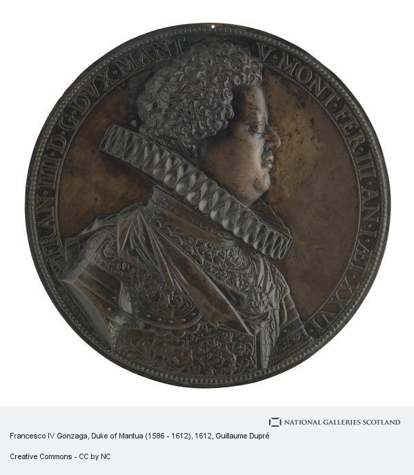 Guillaume Dupré, Francesco IV Gonzaga, Duke of Mantua (1586 - 1612)
