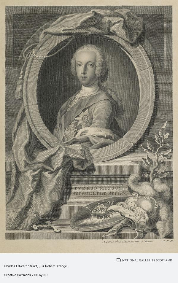 Sir Robert Strange, Charles Edward Stuart
