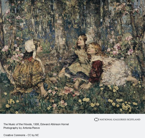 Edward Atkinson Hornel, The Music of the Woods