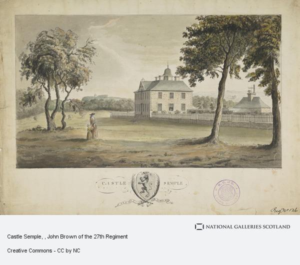 John Brown, Castle Semple