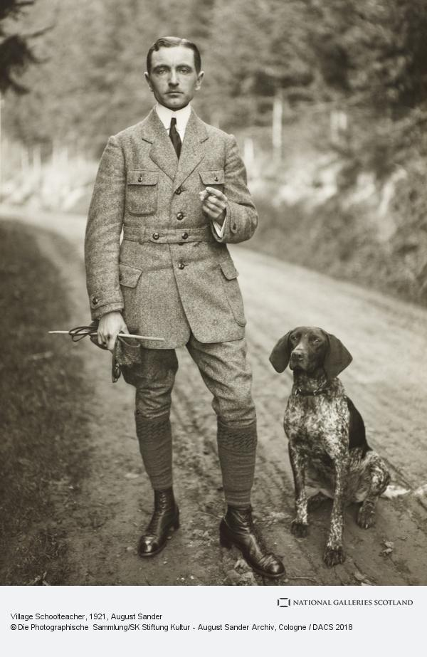 August Sander, Village Schoolteacher, 1921