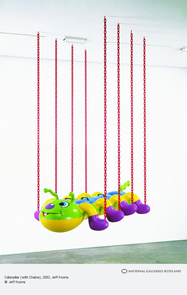 Jeff Koons, Caterpillar ( with chains) (2002)
