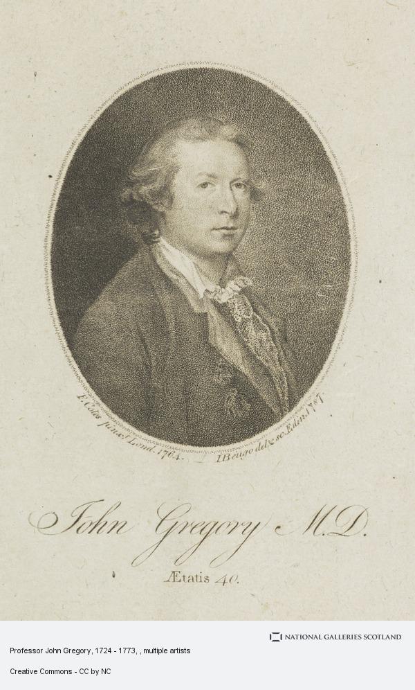 John Beugo, Professor John Gregory, 1724 - 1773