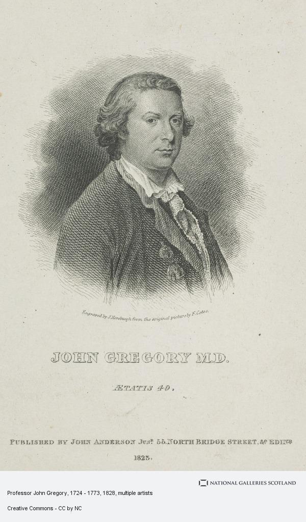 Francis Cotes, Professor John Gregory, 1724 - 1773