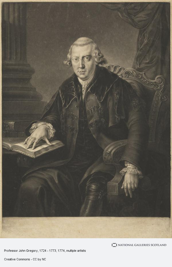 Richard Earlom, Professor John Gregory, 1724 - 1773