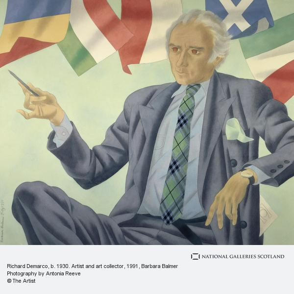 Barbara Balmer, Richard Demarco, b. 1930. Artist and art collector
