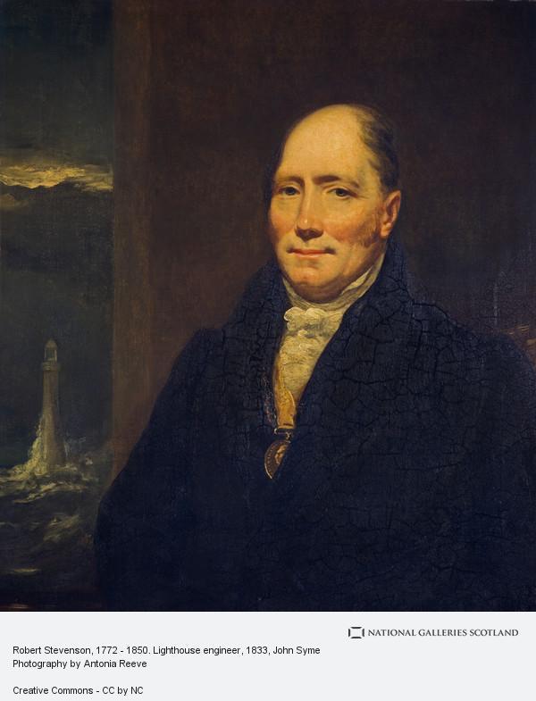 John Syme, Robert Stevenson, 1772 - 1850. Lighthouse engineer