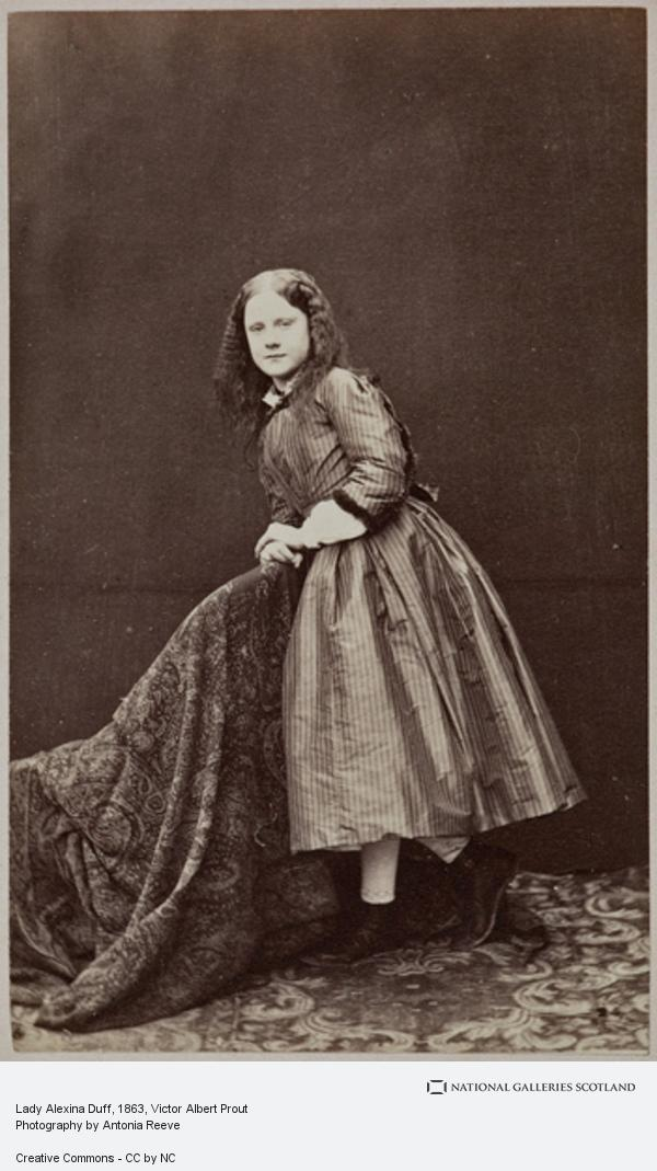 Victor Albert Prout, Lady Alexina Duff
