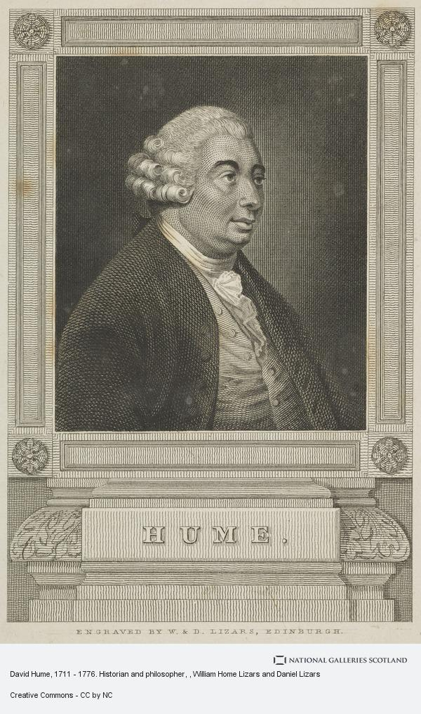 William Home Lizars and Daniel Lizars, David Hume, 1711 - 1776. Historian and philosopher