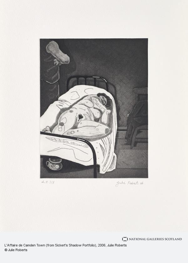 Julie Roberts, L'Affaire de Camden Town (from Sickert's Shadow Portfolio)