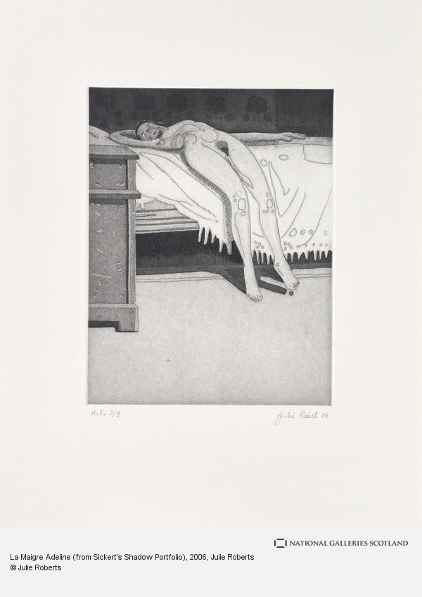 Julie Roberts, La Maigre Adeline (from Sickert's Shadow Portfolio)