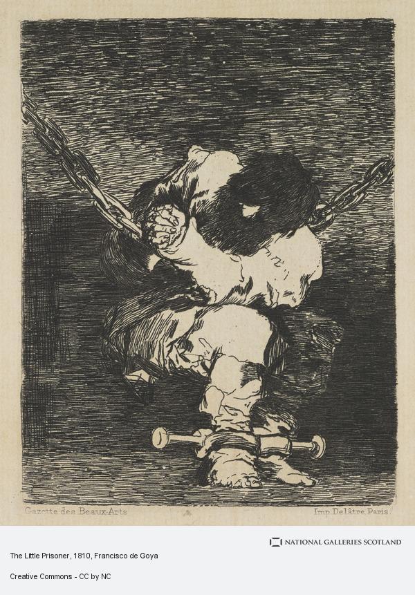 Francisco de Goya, The Little Prisoner