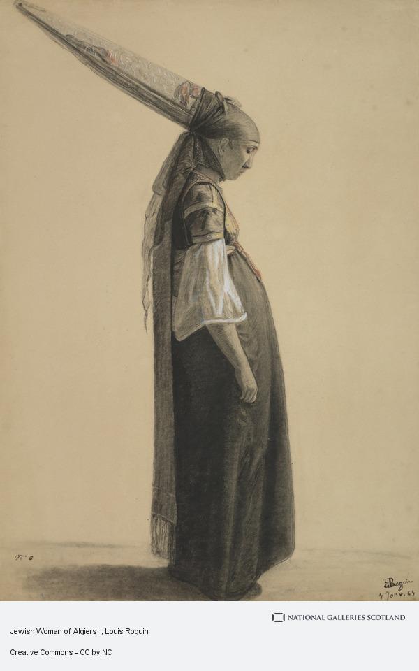 Louis Roguin, Jewish Woman of Algiers