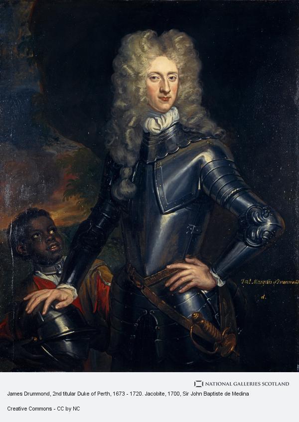 Sir John Baptiste de Medina, James Drummond, 2nd titular Duke of Perth, 1673 - 1720. Jacobite