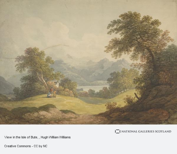 Hugh William Williams, View in the Isle of Bute