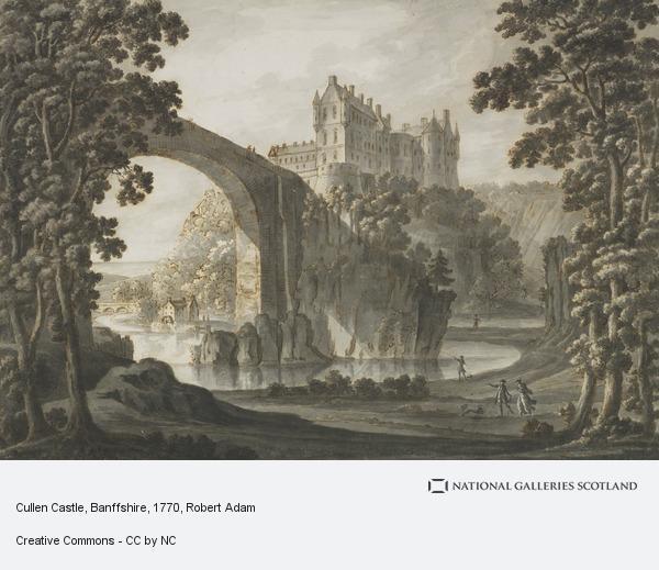 Robert Adam, Cullen Castle, Banffshire (About 1770 - 1780)