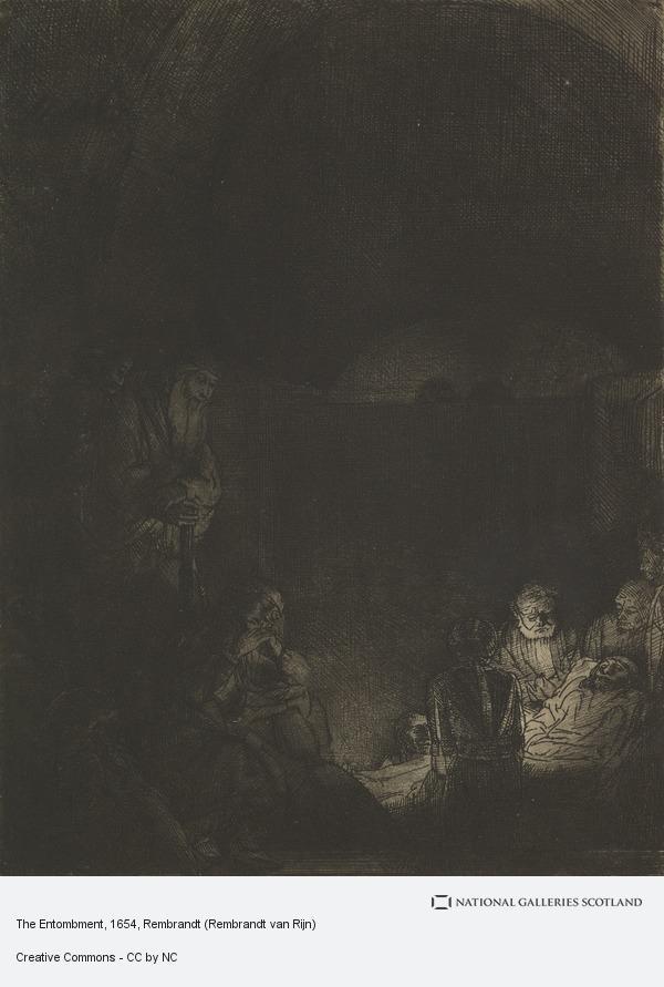 Rembrandt (Rembrandt Harmensz van Rijn), The Entombment