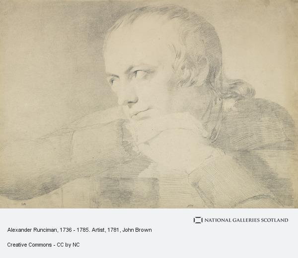 John Brown, Alexander Runciman, 1736 - 1785. Artist (About 1781 - 1783)