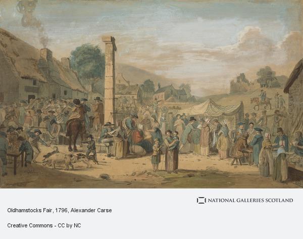 Alexander Carse, Oldhamstocks Fair (Dated 1796)