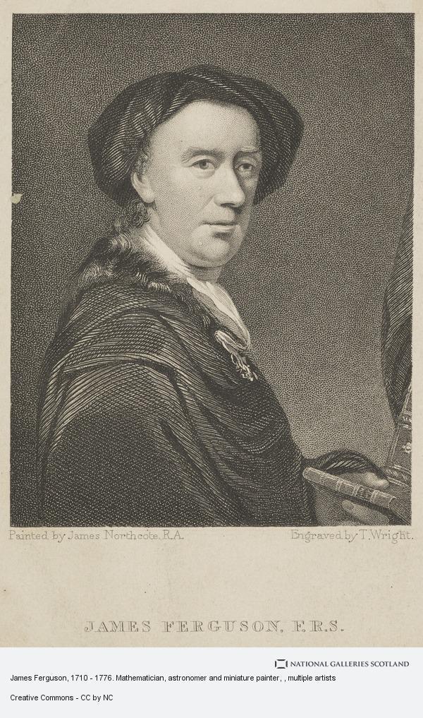 T. Wright, James Ferguson, 1710 - 1776. Mathematician, astronomer and miniature painter