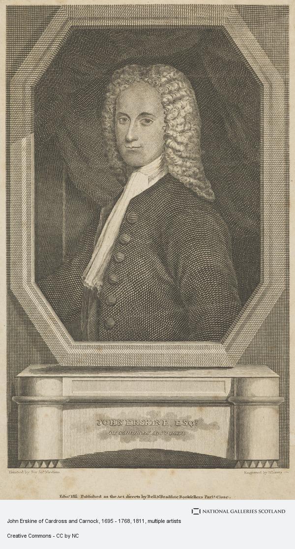 Daniel Lizars, John Erskine of Cardross and Carnock, 1695 - 1768