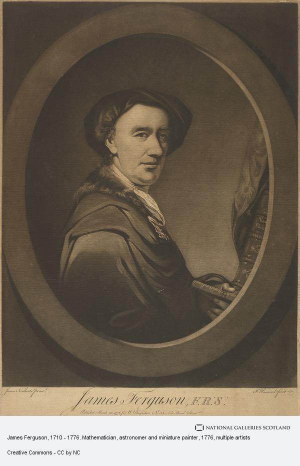 Francis Haward, James Ferguson, 1710 - 1776. Mathematician, astronomer and miniature painter (Published 1776)