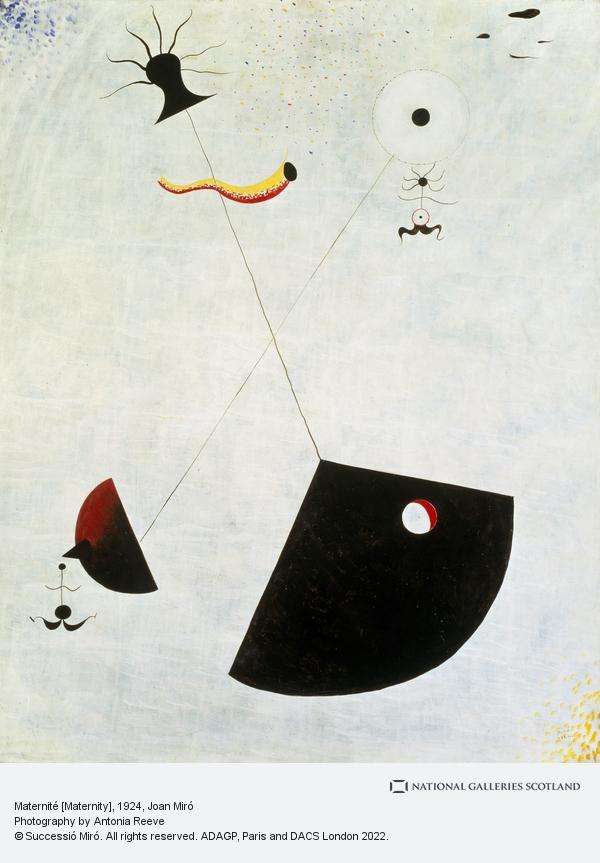 Joan Miro, Maternité [Maternity] (1924)