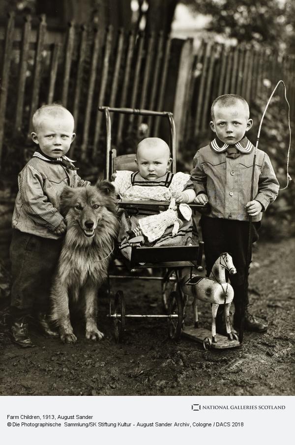 August Sander, Farm Children, c. 1913 (about 1913)