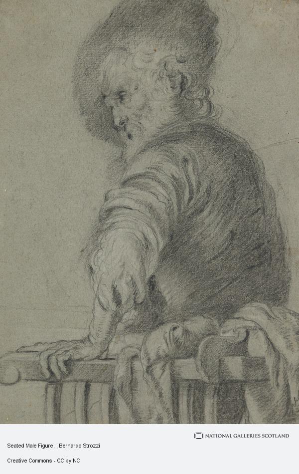 Bernardo Strozzi, Seated Male Figure