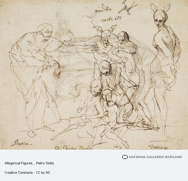 Pietro Testa, Allegorical Figures