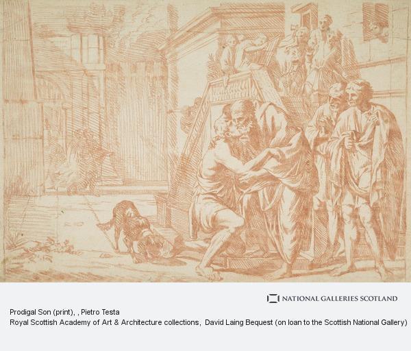 Pietro Testa, Prodigal Son (print)