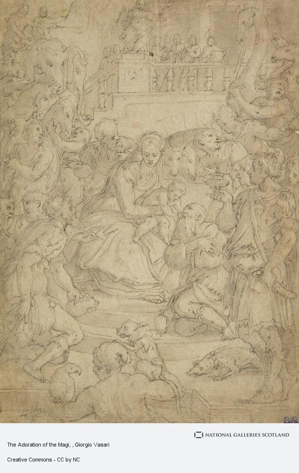 Giorgio Vasari, The Adoration of the Magi