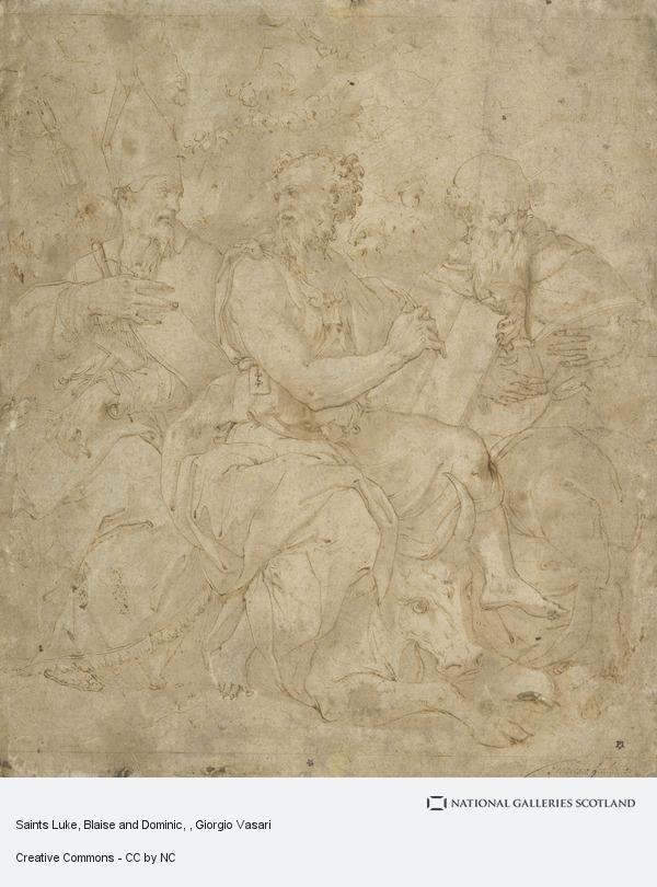 Giorgio Vasari, Saints Luke, Blaise and Dominic